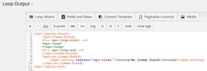 Layout HTML