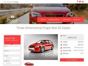 Classifieds sites built with Toolset Starter Theme