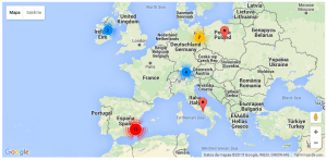 Toolset Maps Clustering Front-end Example