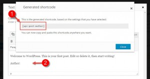 Inserting a generated Toolset shortcode into Avada theme's page builder: text block element