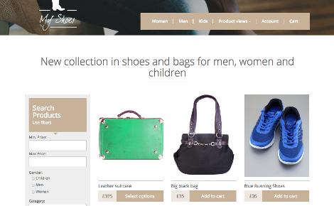 Custom WooCommerce Site