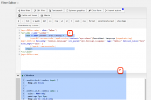 "Turning your radio box into a ""flat"" list of options"