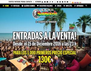 www.rototomsunsplash.com - website of the Rototom Sunsplash European Reggae Festival