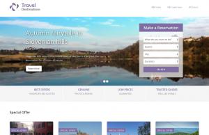 Listing site – Travel Destinations