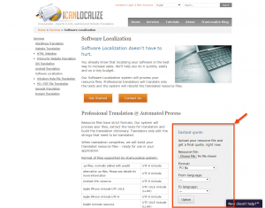 ICanLocalize professional service allows you to send your .po files to translation