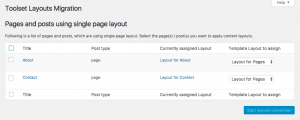 Migration of two multilingual pages