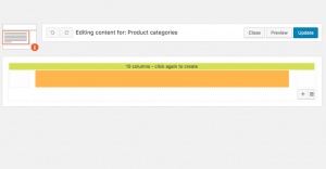 Adding a cell for the product categories slider