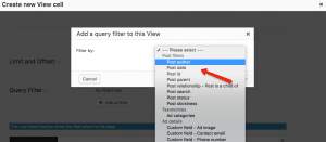 Selecting the post author