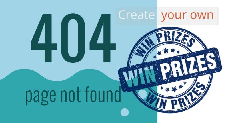 404 error page contest