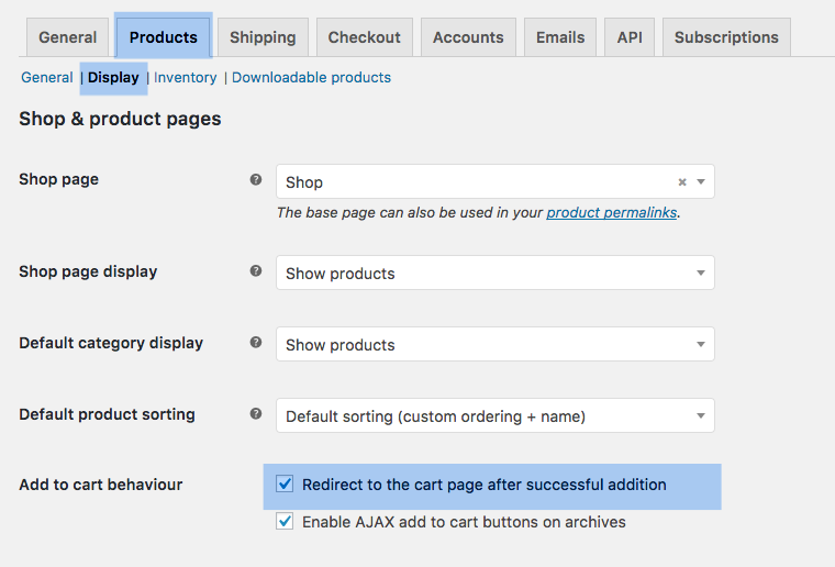 How to redirect a user to the checkout page after pressing the add to cart (Sign up) button
