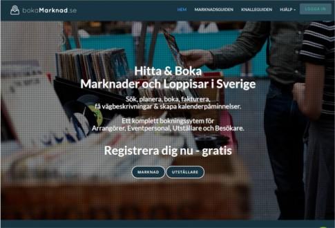 BokaMarknad (Book a Market)