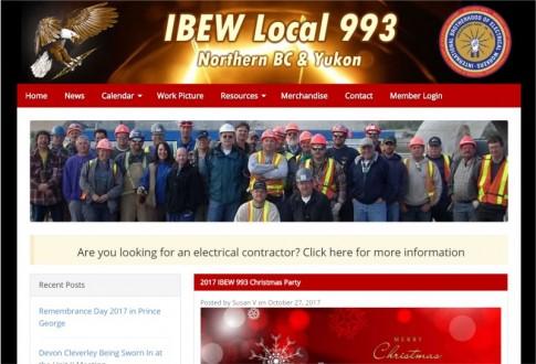 IBEW Local 993 Northern BC & Yukon
