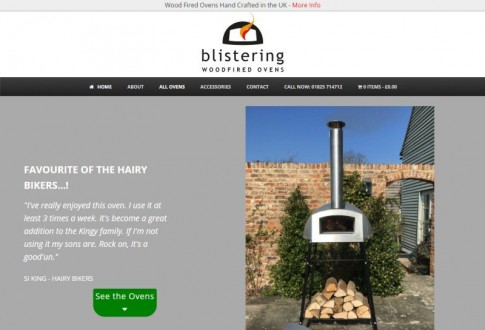 Blistering Woodfired Ovens