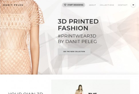 Danit Peleg – The world's first bespoke 3D printed garment