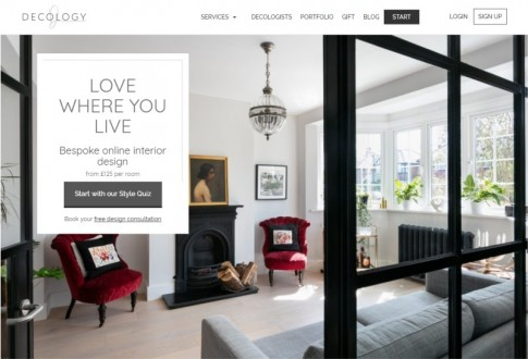 Decology – The biggest plaform in the UK for online interior design