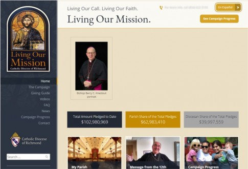 Catholic Diocese of Richmond – Living our Mission