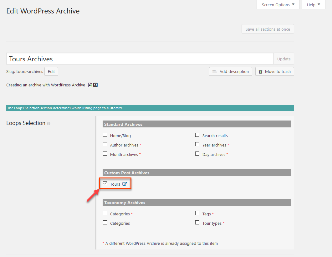 Creating templates for wordpress archive pages with beaver builder enabling beaver builder for your archive page pronofoot35fo Choice Image