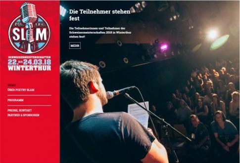 Poetry Slam Schweizermeisterschaften 2018