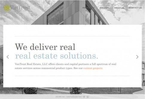 VanTrust Real Estate Website